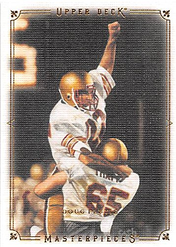 Doug Flutie Football Card  Bc Boston College 1984 Hail Mary Celebration  2008 Upper Deck Masterpieces  26