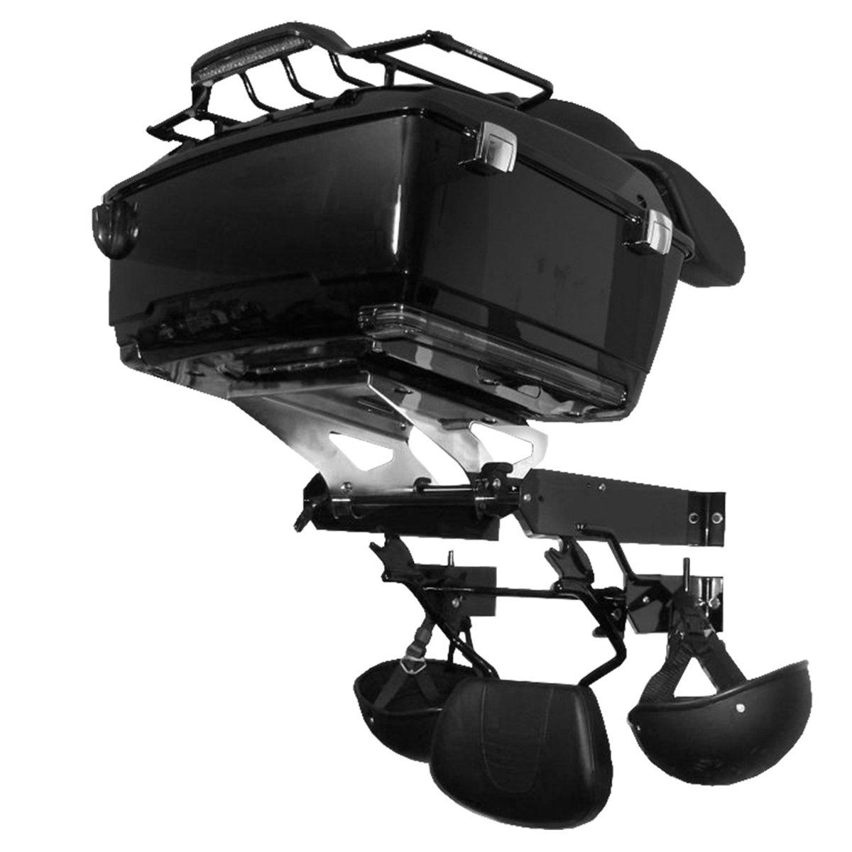 Tour-pak Trunk Helmet Accessory Storage Rack Shelf Organizer For Harley DavidsonTouring (5-7 Days Ships from the CA, US)
