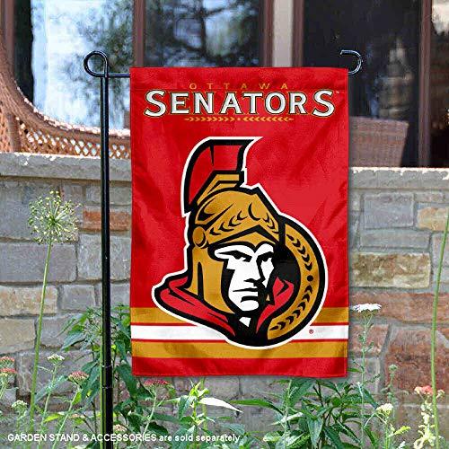 WinCraft Ottawa Senators Double Sided Garden Flag
