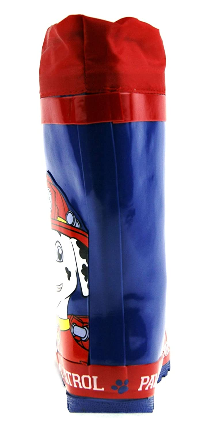 Paw Patrol Chase Tie Top Wellington Boots