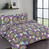 New periodic table of element science duvet cover set with free duvet quilt cover bedding bed set paisley flower print iris blue all sizes double urtaz Image collections