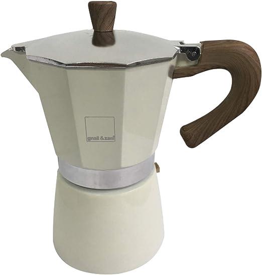 Gnali & Zani Venezia Espressokocher, Creme, 6 Tassen Cafetera ...
