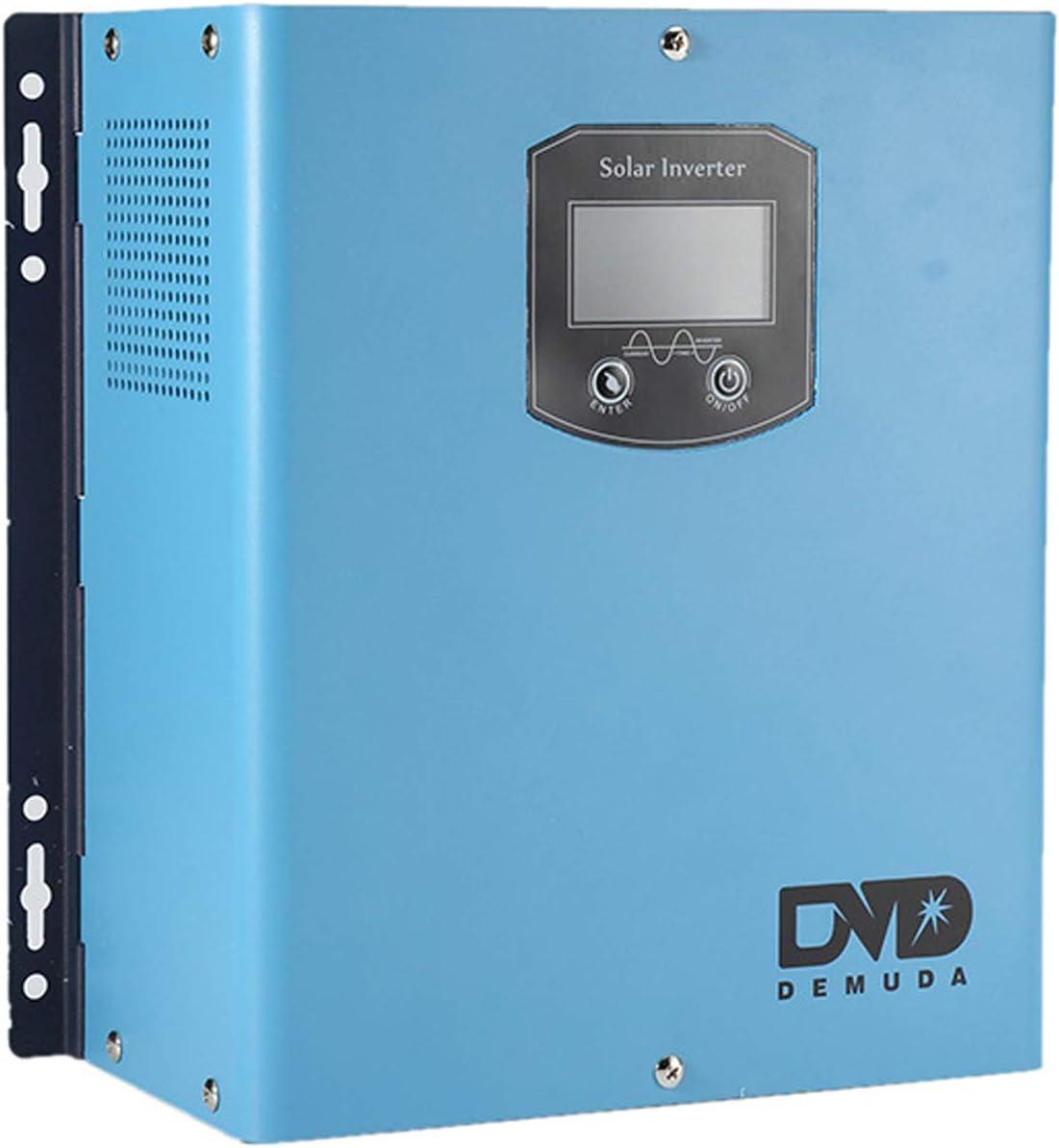 B2KEY® Inversor de Carga inversor Integrado Inversor Solar de Onda sinusoidal Pura Inversor de frecuencia de Potencia 1500w DC 12V / 24V a CA 220V (DC 12V to AC 220V)