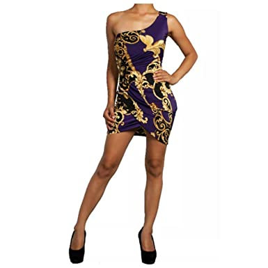 Purple Club Dress