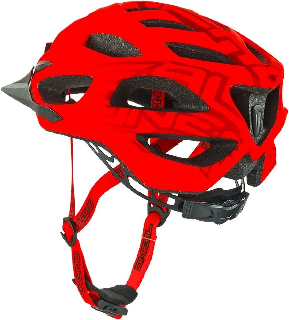 0504/ /10 O Neal Q RL semigusci Casco MTB Rosso all Mountain Enduro Trail Bicicletta