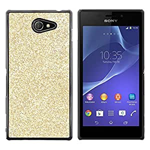 Exotic-Star ( Glitter Bling Money Rich Sparkly ) Fundas Cover Cubre Hard Case Cover para Sony Xperia M2 / Xperia M2 Aqua / Sony Xperia M2 Dual