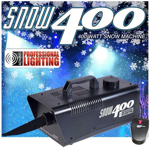 Snow Machine 400 Watt Produces the illusion of real snow. Make it snow for your Holiday.