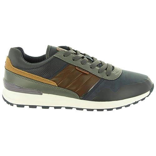 LOIS JEANS Zapatillas Deporte de Hombre 84573 107 Marino: Amazon.es: Zapatos y complementos