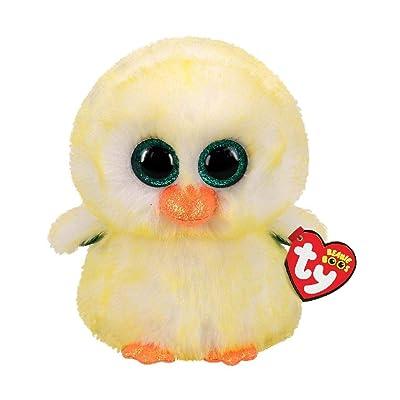 "Ty Beanie Boos Lemon Drop - Chick Medium - 9"": Toys & Games"