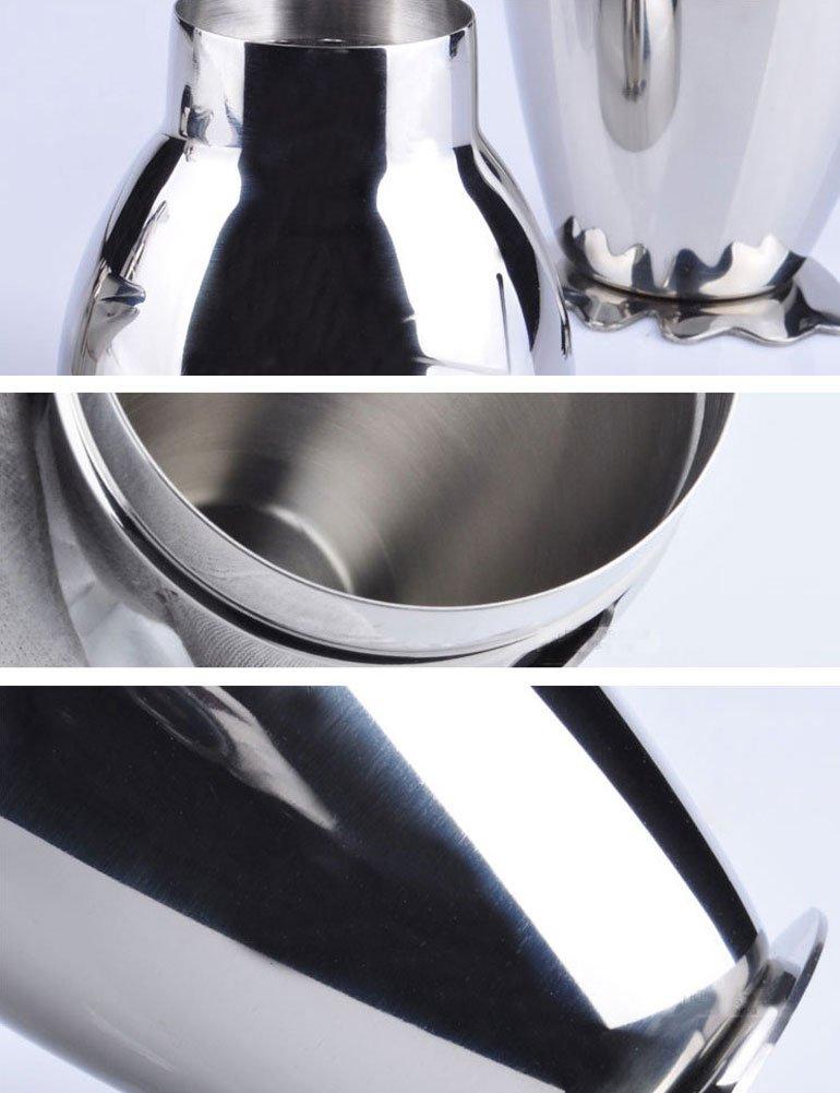 LAQI Cepillos de Extremo de Alambre Ondulado de dise/ño de Pluma de Acero Inoxidable de 4 Piezas 6mmx15mm Herramientas de Pulido
