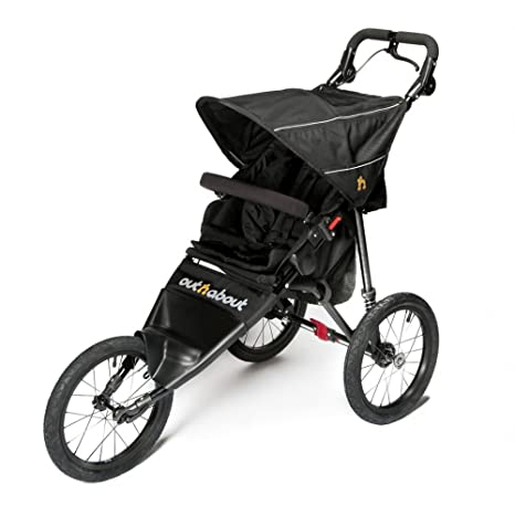 Out N About Silla De Paseo Deportiva V4- Negro Cuervo