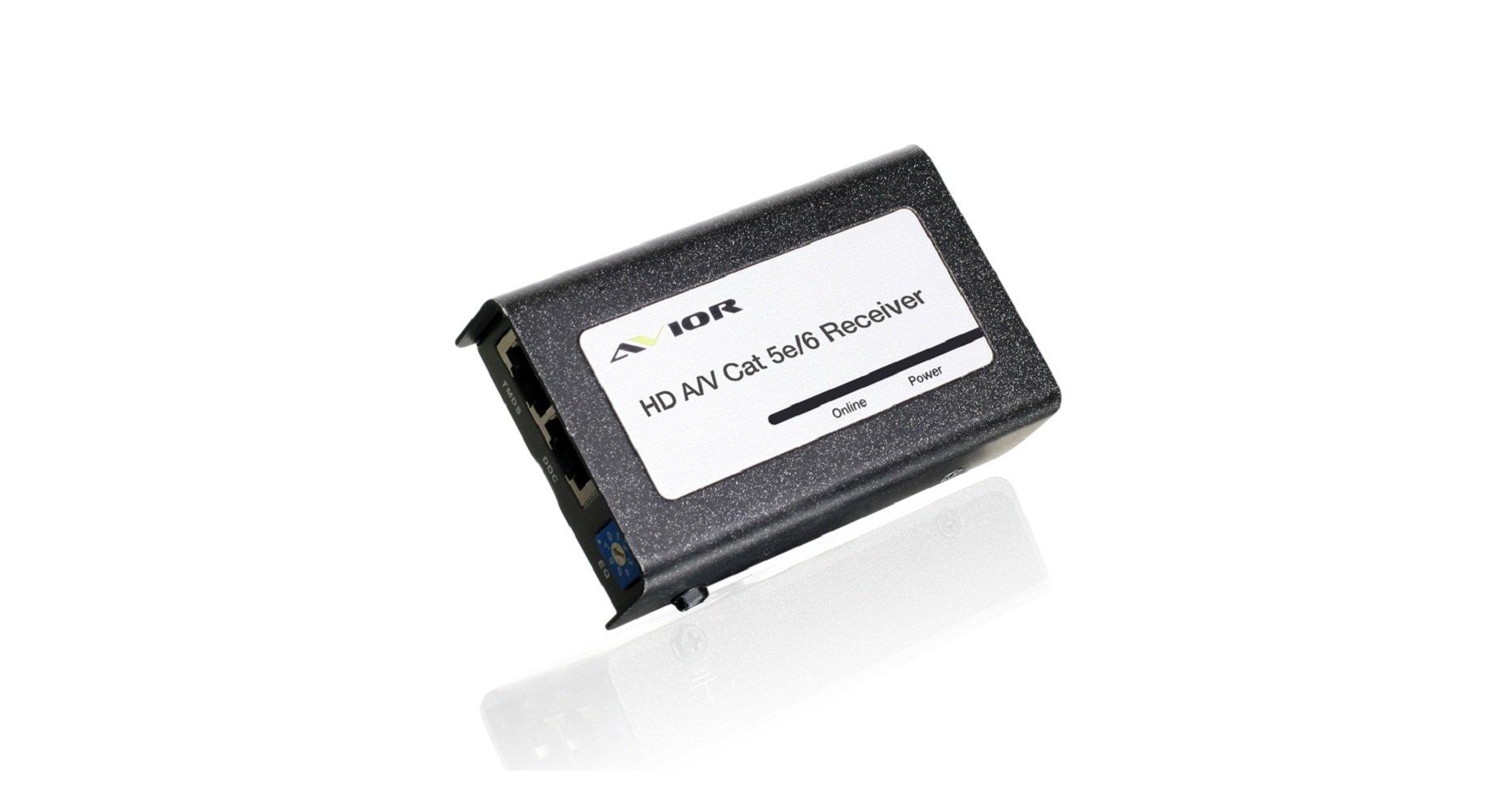 IOGEAR HD Audio/Video Cat 5e/6 Receiver (GH8201ER)