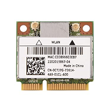 Denash Módulo de Tarjeta WiFi inalámbrico, Tarjeta Mini PCI ...