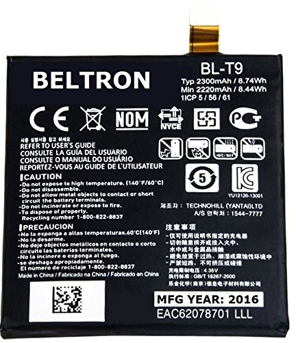 Price comparison product image New 2300 mAh BELTRON Replacement Battery for LG Nexus 5 D820 / D821 (AT&T Sprint T-Mobile)