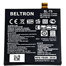New 2300 mAh BELTRON Replacement Battery for LG Nexus 5 D820 / D821 (AT&T Sprint T-Mobile)