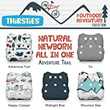 Thirsties Package Snap Natural All In One Outdoor Adventure Collection-Newborn, Adventure Trail