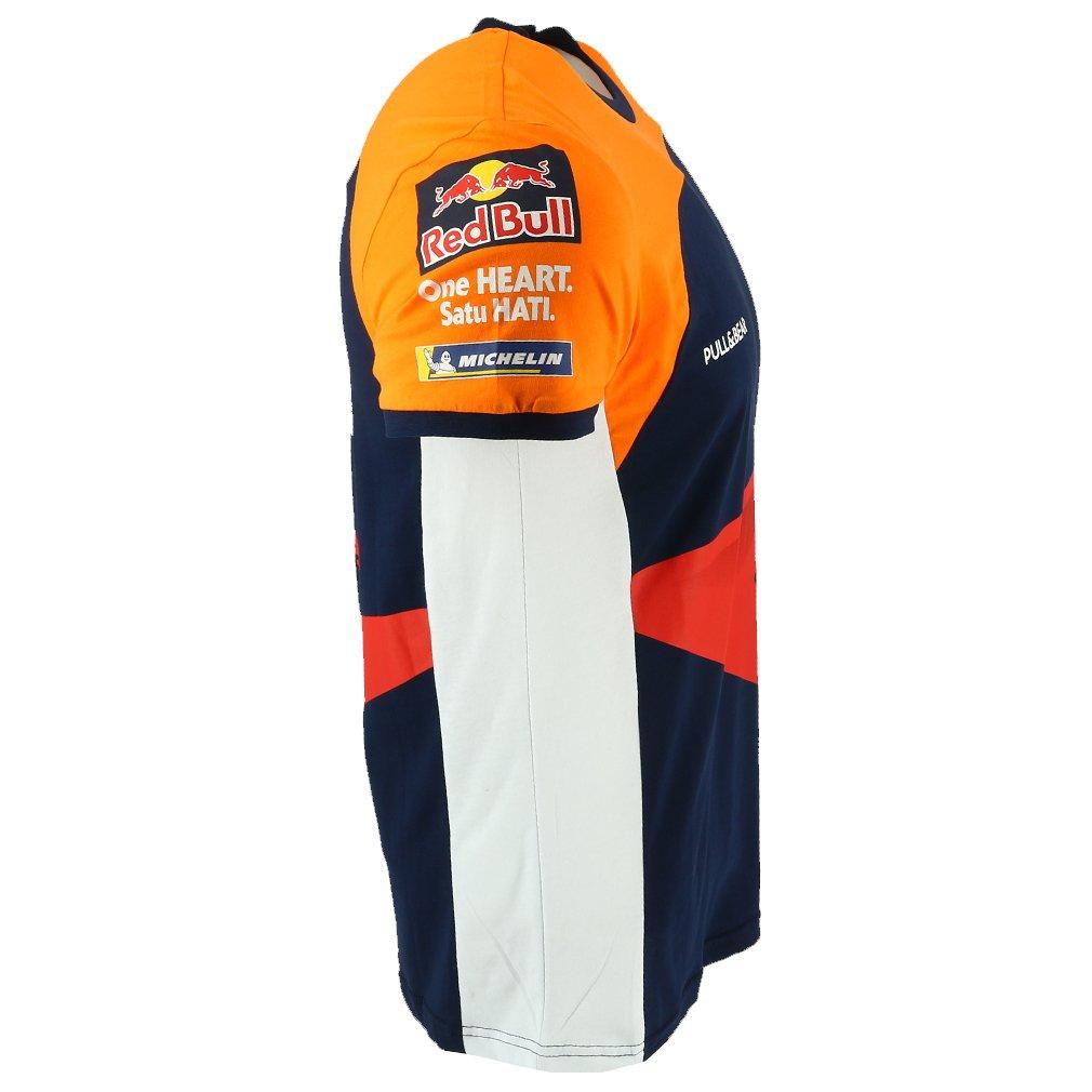 HONDA Repsol Moto GP Teamwear Replica Panel Azul Camiseta Oficial Nuovo