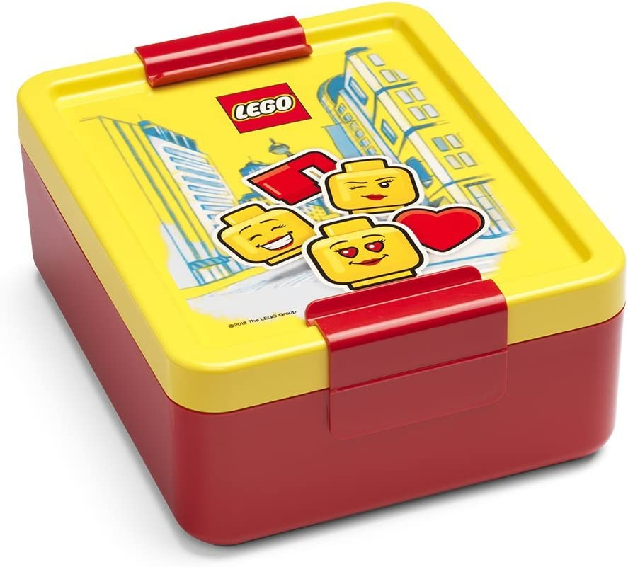 LEGO Lunch Box Girl, Red