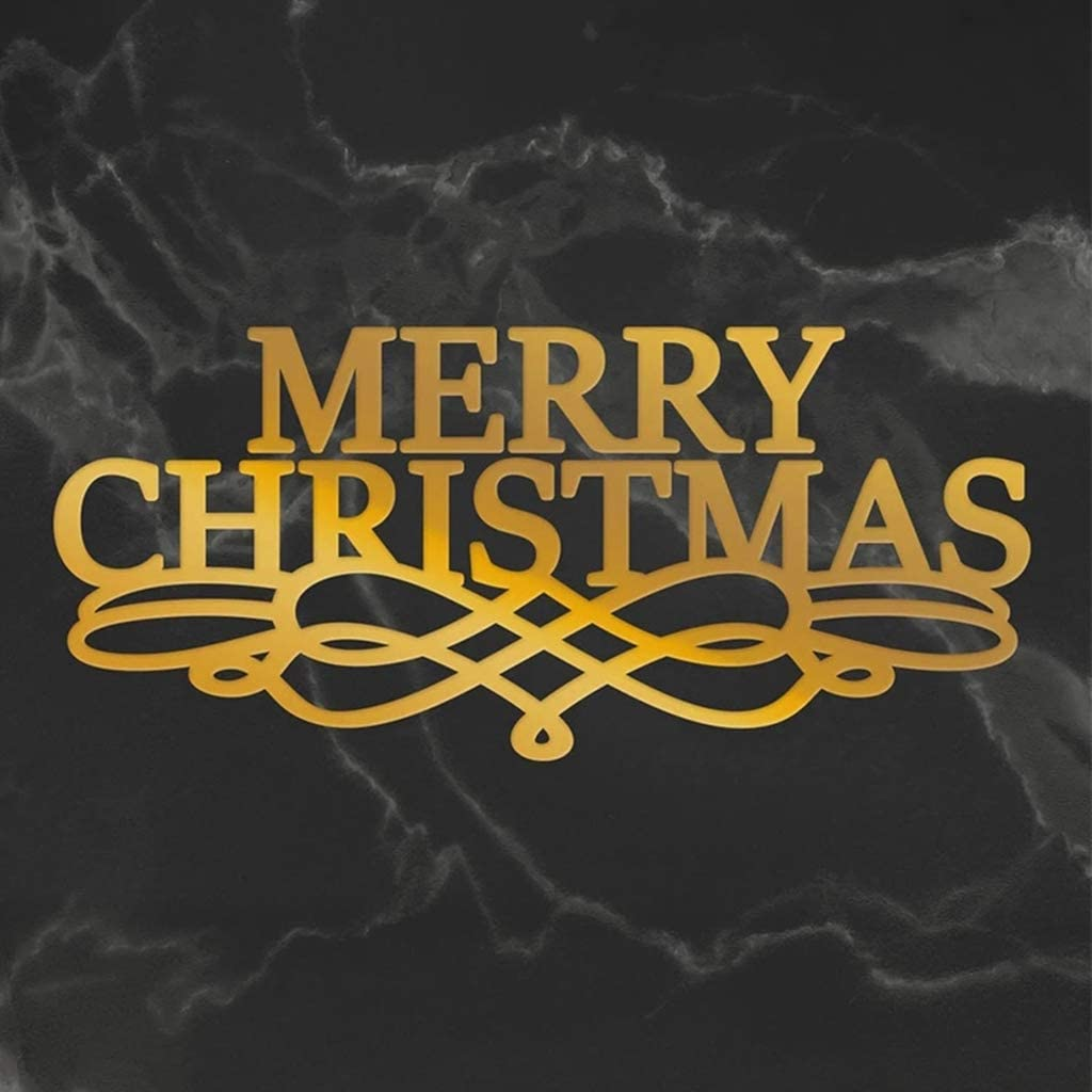 Briartw Hot Foil Plate,Christmas Celebration Words Metal Hot Foil Plate Seasons Greetings Stencil Hot Foil Stamp for Cards DIY Scrapbooking Embossing Handmade Craft