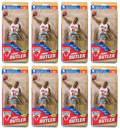 8ct Lot Jimmy Butler Chicago Bulls McFarlane NBA Series 28 Figure White Bronze Chase Variant /1500