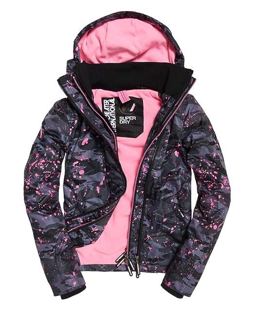 Amazon.com: Chaqueta con capucha y cremallera para mujer con ...