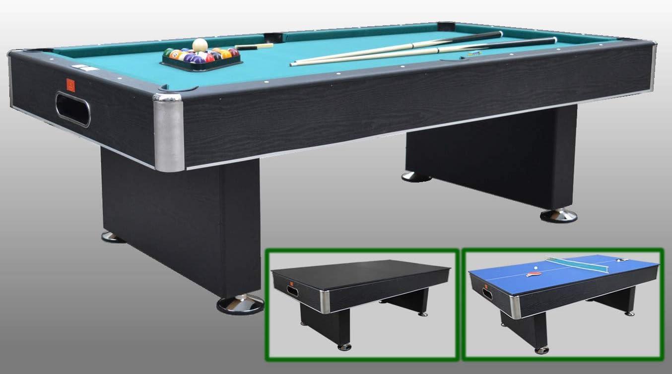 NG Biliardi Mesa de Billar Multiusos Ping Pong – Mesa de Comedor ...