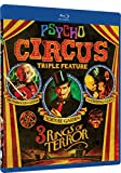 Psycho Circus - 3 Rings of Terror Triple Feature - BD - Brotherhood of Satan, Torture Garden, Creeping Flesh [Blu-ray]