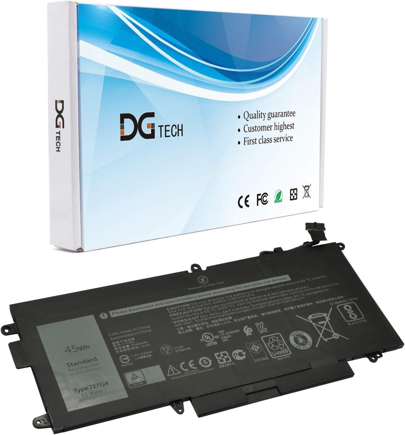 Bateria para Dell Latitude 7280 5289 5389 71TG4 11.4V 45Wh