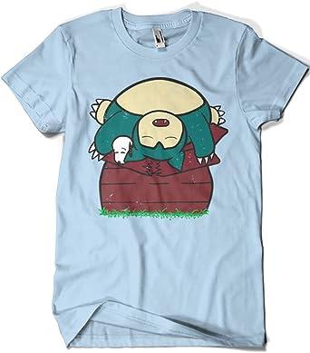 3200-Camiseta Pokemon - Snooplax (SergioDoe): Amazon.es: Ropa y accesorios