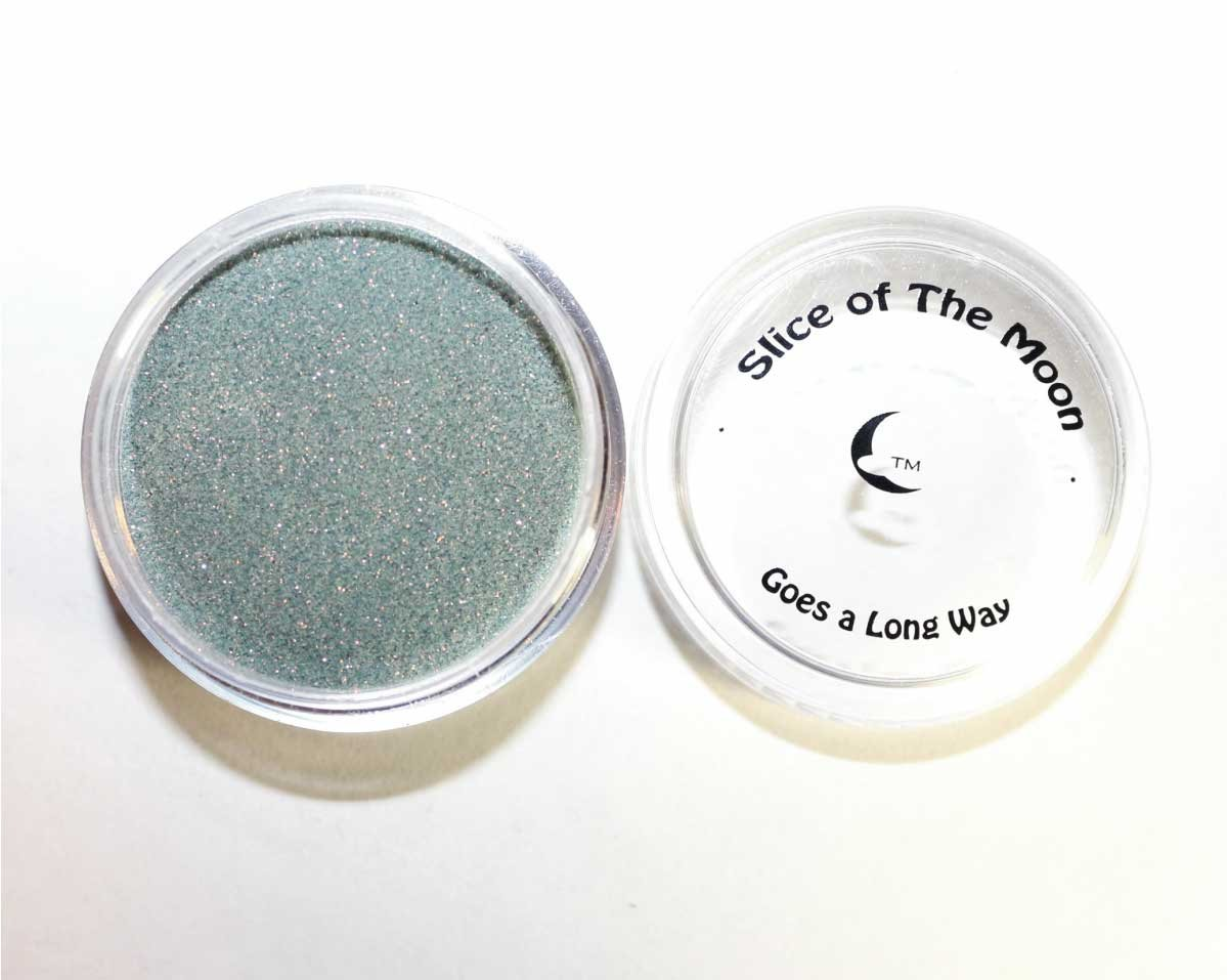 Neon Gold Green Glitter Powder 15g – Non-solvent Glitter Powder, Slice of the Moon