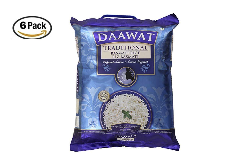 Daawat Traditional Basmati Rice, 10 Pound