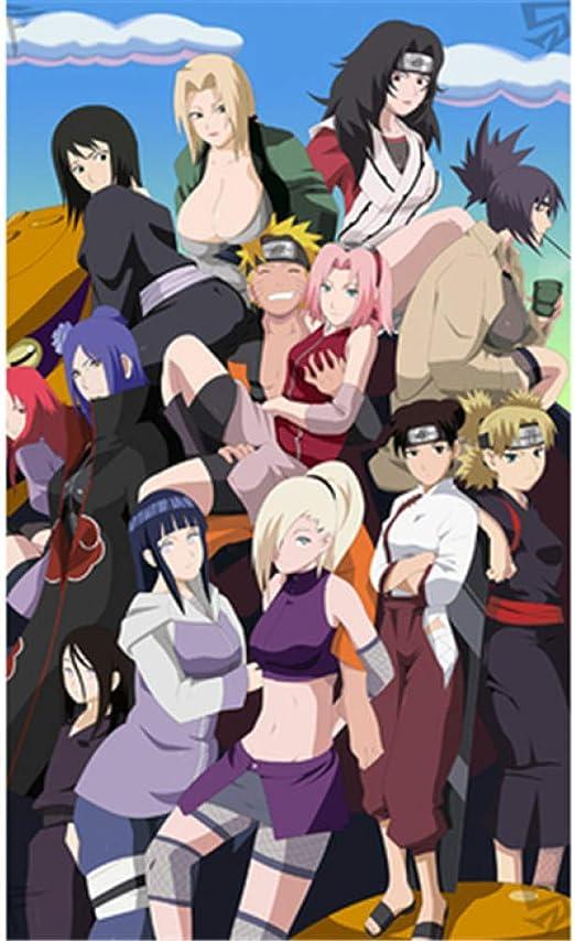 Naruto Personajes Personajes Cartel Ninja Wars Ciudad Uchiha ...