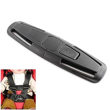 Schnalle Verriegelung Sicherheitsgurt Gurt Gürtel Für Den Kindersitz Auto Brust Baby Sicherheit Sitz Clip Schwarz Baby