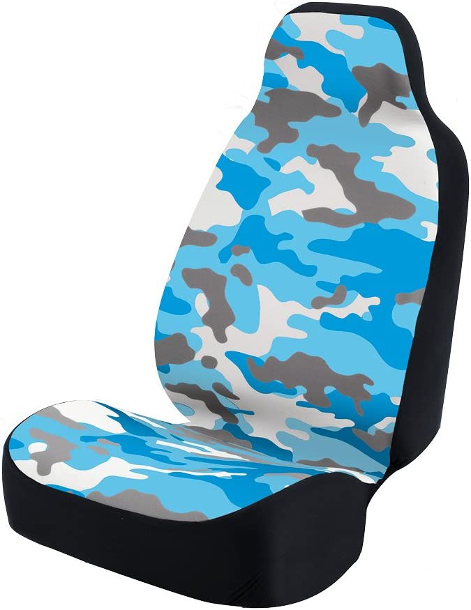Camo Coverking Universal Fit 50//50 Bucket Camo Fashion Print Seat Cover Traditional Sand