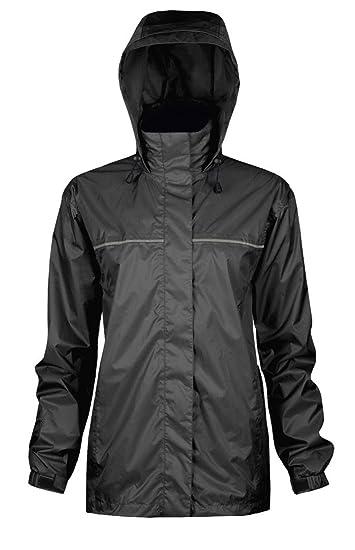 Amazon.com: Viking Women's Windigo Waterproof Packable Rain Jacket ...