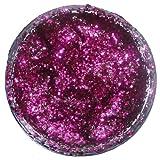 Snazaroo Face Paint 12ml Face - Body Glitter Gel, Fuchsia Pink