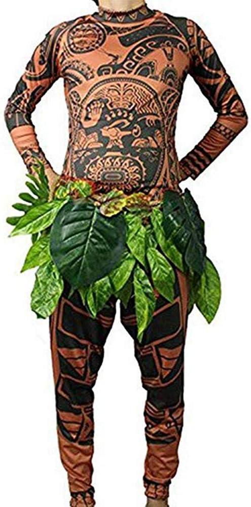 Maui Tattoo - Traje de Disfraz de Halloween, para Hombre, Mujer ...