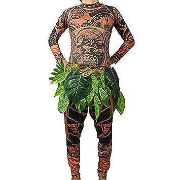 Maui Shirtpantalon Adulte Femme Homme T Tattoo Halloween Pour BrxoeCd