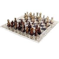 شطرنج مصنوع يدويا من الرخام الطبيعي