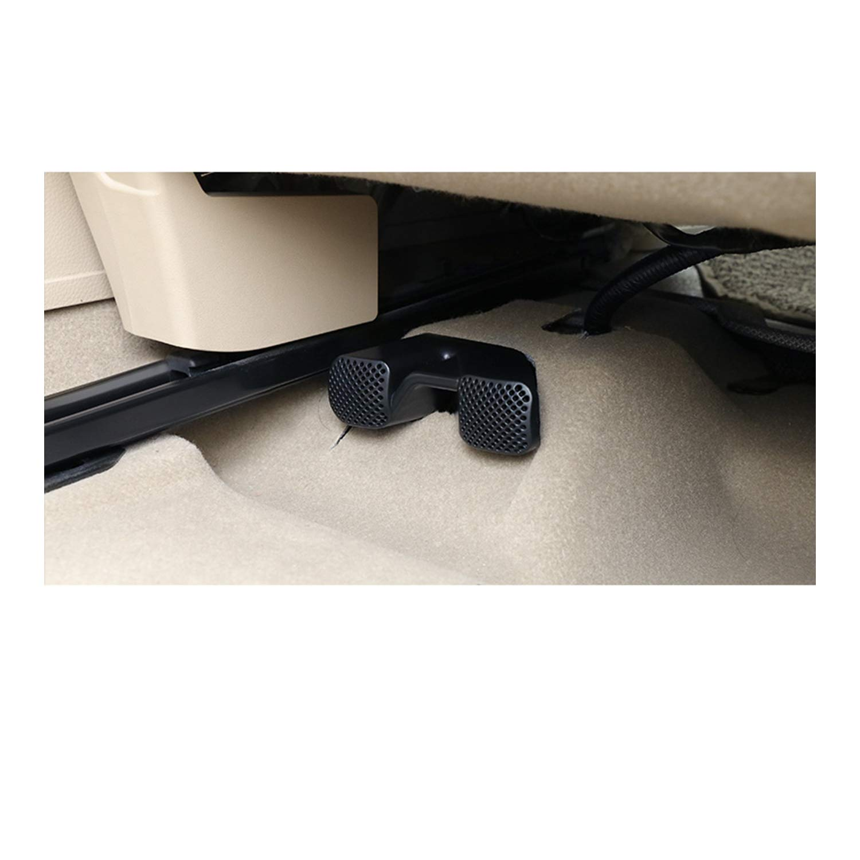 LFOTPP Auto Air Vent cobertura para X-Trail Rogue T32 Qashqai J11 asiento trasero aire acondicionado Outlet Cover 2 unidades