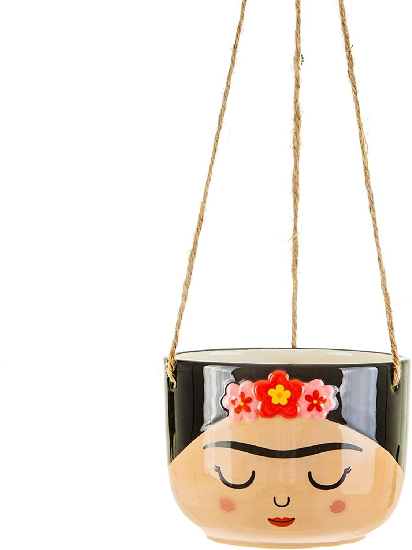 Sass /& Belle Frida Kahlo Boho Fiesta Flower Reusable Bamboo Eco Coffee Cup