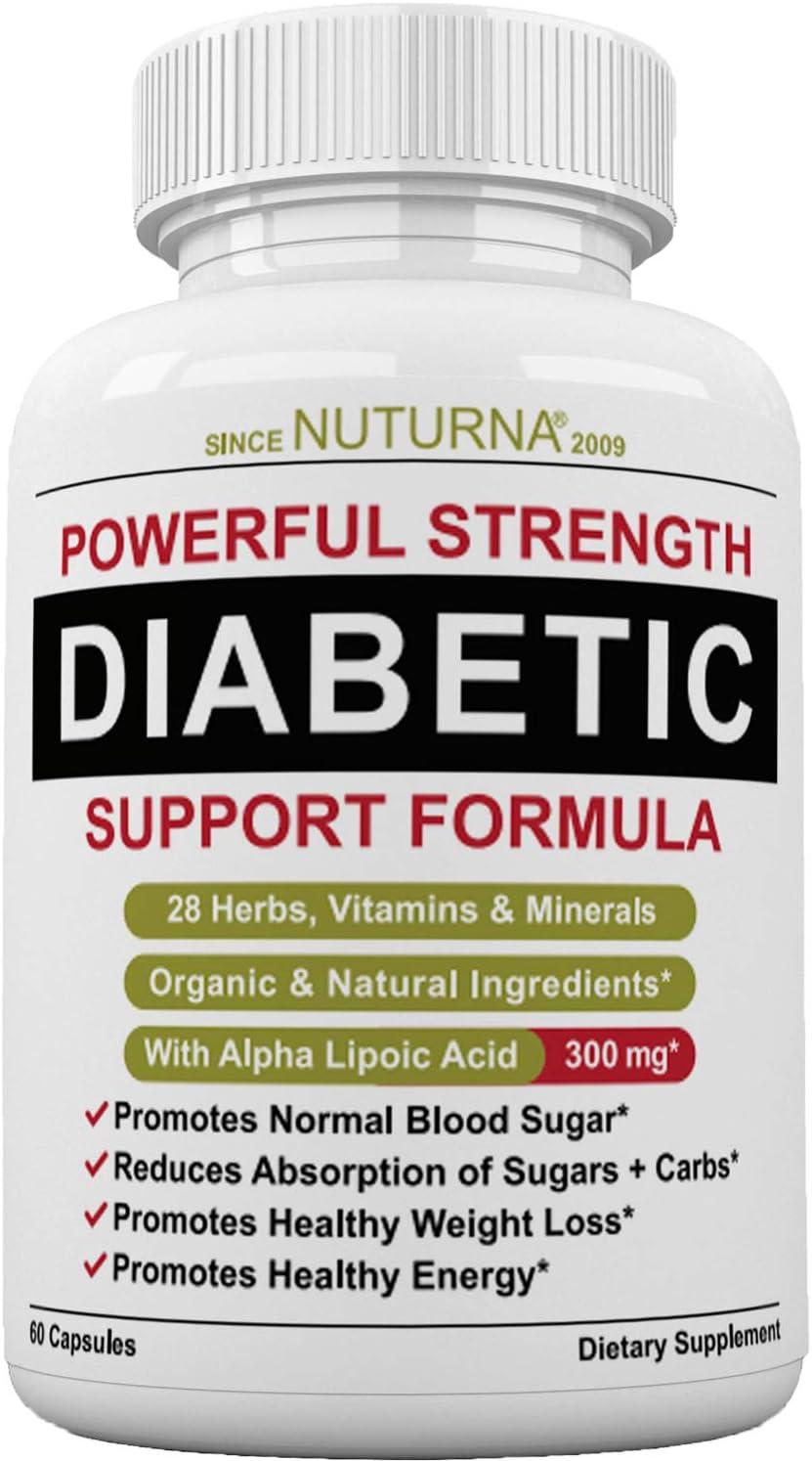 suplementos de vida saludable para la diabetes