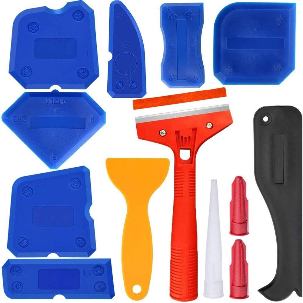 Details about  /Plastic Scraper Sealant Scraper Silicone Glass Sealant Remover Flexible Silicone