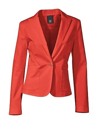 Veste blazer corail femme