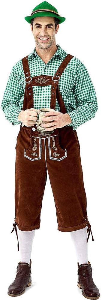 Disfraz Halloween Adulto Hombre Carnaval Cosplay Tirantes De ...