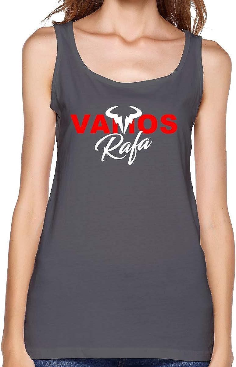 Kai1314 Women Vamos Rafa Rafael Nadal Tennis Star Tank Tops At Amazon Women S Clothing Store