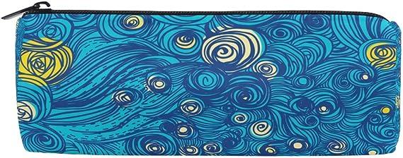 BENNIGIRY Sky Tumblr Estampado Cilindro Estuche para Niños, Multifuncional Escolar Bolsas con Cremallera para Escuela Niñas Niños: Amazon.es: Oficina y papelería