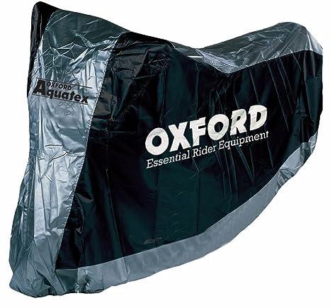 OXFORD - Funda cubre moto universal para motocicletas con guarda cascos T.L Oxford CV117 - 38529