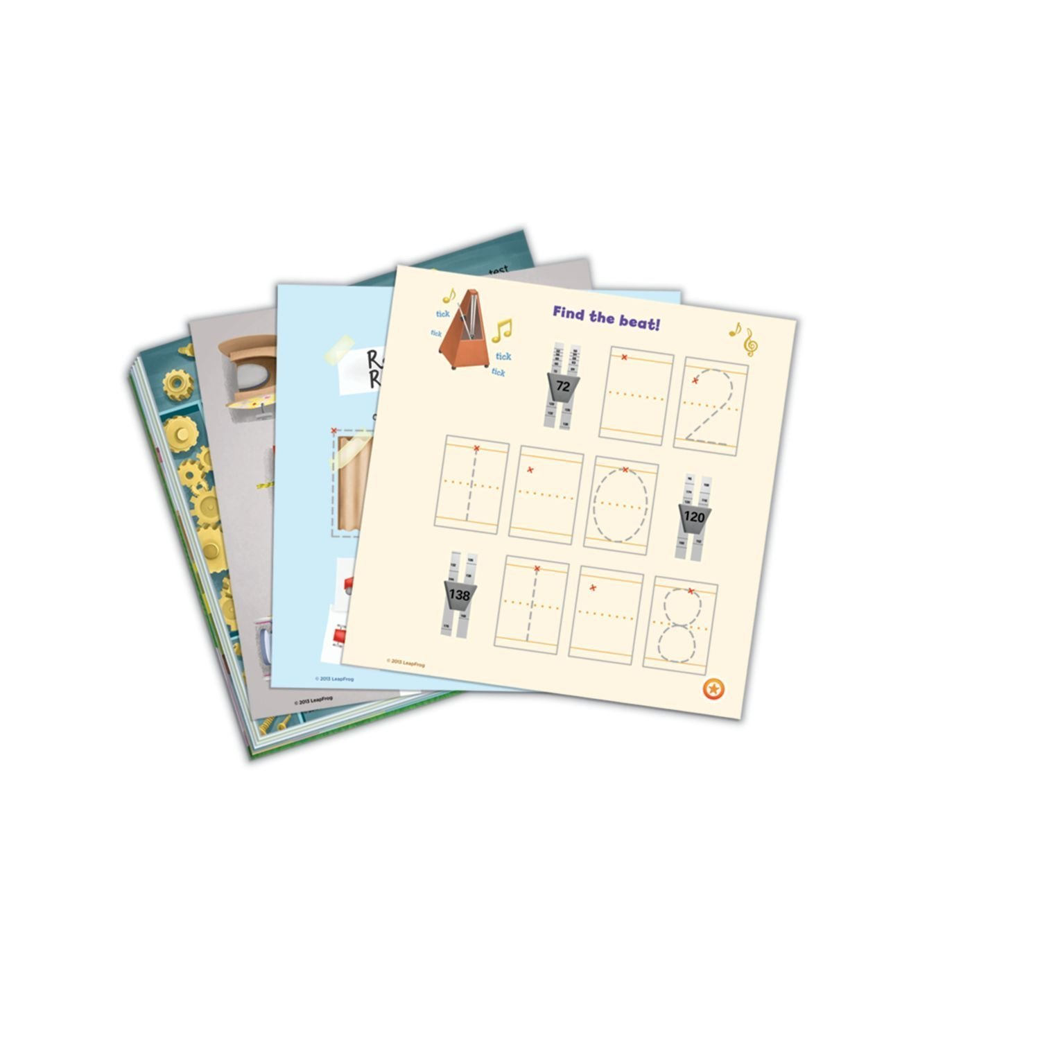 LeapFrog LeapReader Writing Workbook: Write it! Engineering A Win & LeapReader Read & Write System Green, Ages 4-8 Years, Interactive Learning System For Kids, STEM, Educational Tools, Activity Bundle by LeapFrog (Image #3)