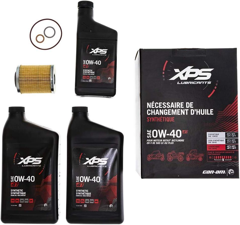 Can Am Maverick Commander Renegade Outlander Oil Change Kit 4 stroke XPS Full Synthetic #779259